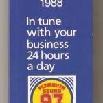 Plymouth Sound Radio Diary 1988 01