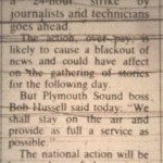 News Strike 1985